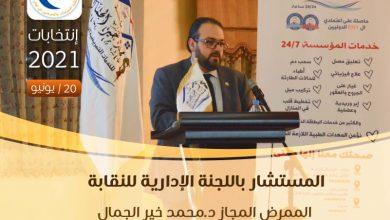 صورة انتخابات مجلس نقابة الممرضين في 20/6/2021… من هو المرشح محمد خير الجمال ؟