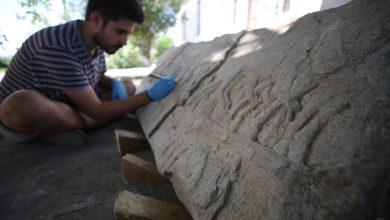 """صورة """"جنود يونانيون تحت حوافر الخيول الفارسية"""" إكتشاف أثري جديد في تركيا"""