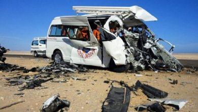 صورة وفاة سائحة روسية في مصر على طريق الغردقة