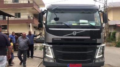 صورة وصول أول شحنة من المازوت الايراني الى محافظة عكار