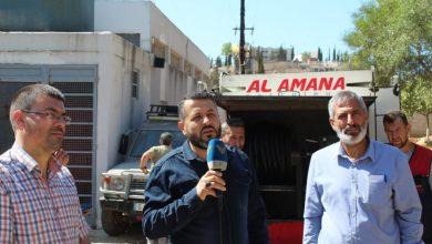 صورة حزب الله وزع المازوت المجاني على بلدات في إقليم الخروب