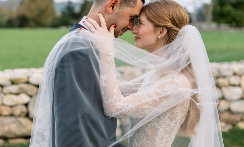 صورة زفاف ابنة بيل غيتس من المصري نائل نصّار