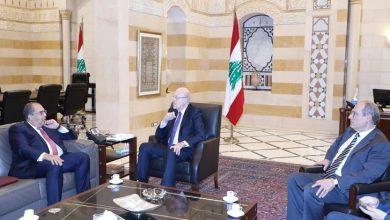 صورة ميقاتي يلتقي ممثل المجموعة العربية في صندوق النقد الدولي